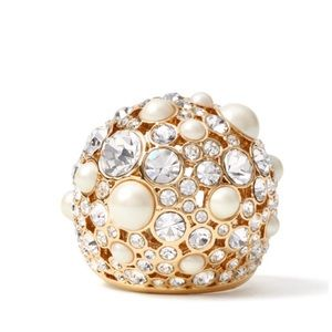KATE SPADE • Pick A Pearl Cocktail Ring